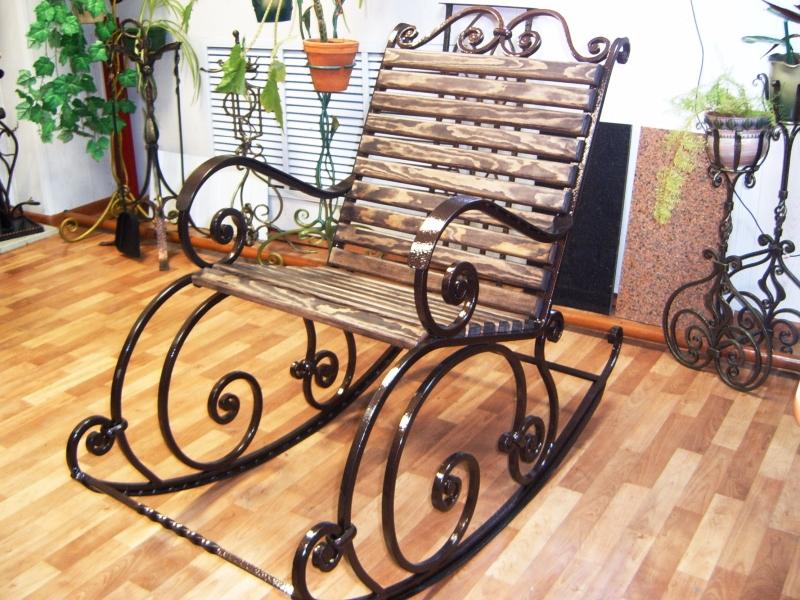 Кресло качалка из профильной трубы своими руками